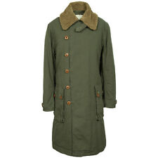 PRETTY GREEN SWEDISH PARKA JACKET COAT - GREEN - SMALL - LIAM GALLAGHER