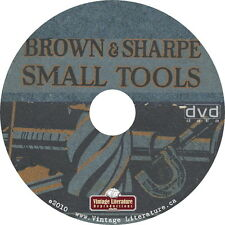 Brown & Sharpe Antique Tool Catalogs on DVD