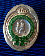 Sterling Silver & Enamel Nursing Badge - National Nursery Examination Board 1945