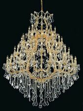 Palace Maria Theresa 49 Light Crystal Chandelier Light GOLD FIXTURE