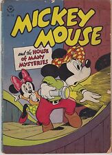 FOUR COLOR #116 MICKY MOUSE AND THE HOUSE OF MANY MYSTERIES (DISNEY)