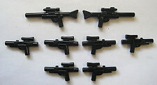 Lego Star Wars BLASTER GUN LOT 10 pcs 2 Long Rifles 8 Medium Blasters Minifigure