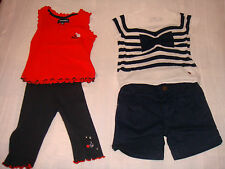 ensembles fille ~~  2 ans  ***JEAN BOURGET*** (top + legging et t-shirt et short