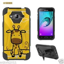 Giraffe Shockproof Case w/Stand Cover for Samsung Galaxy Amp Prime Sol J3