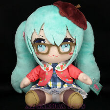 Vocaloid HATSUNE MIKU Fall Autumn Winter Plush Doll Fall Autumn Style JAPAN