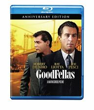 GOODFELLAS :25th Anniversary Edition  -  Blu Ray - Sealed Region free for UK