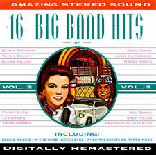 16 Big Band Hits, Vol. 2 by Various Artists (CD, Nov-1994, Michele)
