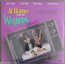 At HOME with the WEBBERS  Parody of Reality Based TV Show  Laserdisc Edition NEW