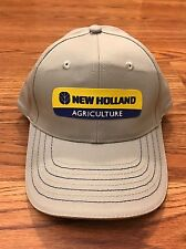 New Holland Agriculture Tractor Baler Combine Harvester Farming Farmer Hat Cap