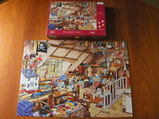 HOUSE OF PUZZLES Grandma's Attic - 1000 Piece Jigsaw - Complete - VGC