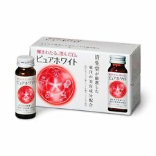 New!! Shiseido Pure White Beauty Drink 50ml x10 Whitening supplements /Tracking