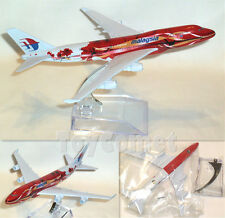 Malaysia Airlines Boeing 747 9M-MPB  Airplane 16cm DieCast Plane Model