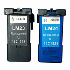 Reman Ink Cartridge for Lexmark ILX23/24 (Black/Tri-Color) use in Lexmark X4550