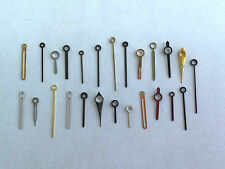 25 WATCH HANDS Steampunk Nail Art gears vintage movements repair lot parts old