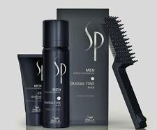 6 x Wella SP Gradual Tone schwarz 60 ml Just Men Pigment Mousse + 30 ml Shampoo