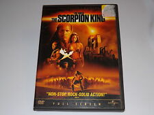 The Scorpion King (DVD, 2002,) Collector's Edition, Full Screen