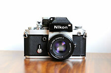 NIKON F2  DP-1 Viewfinder  35mm film camera  w/ Nikon 50mm f/1.8 Lens, Pro F, F3