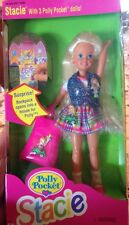 STACIE with POLLY POCKET Dolls Mattel 1994 Barbie's Little Sister New In Box