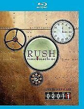 Rush - Time Machine 2011 - Live in Cleveland (Blu-ray, 2011) NEW Region Free