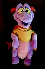 "22"" Disney Figment the Purple Dragon Full Body Hand Puppet Plush Stuffed Animal"