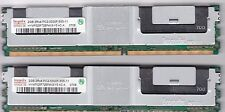 4GB(2x2GB) DDR2-667 PC2-5300F FB DIMM  ECC Fully Buffered Memory RAM 240-pin