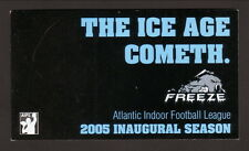 2005 Erie Freeze Schedule