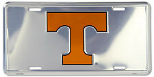 TENNESSEE VOLUNTEERS CAR TRUCK TAG CHROME LICENSE PLATE  METAL SIGN
