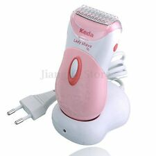 KEDA Lady Women Electric Wireless Shaver Razor Rechargeable Bikini Hair Remover