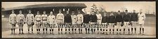 1910 Yale Photo Varsity Baseball Team Vintage Panoramic Photograph