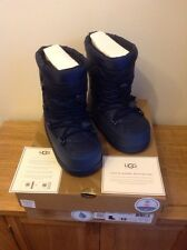 Ugg Australia Girls Noeme Ski Snow Boots Midnight Blue UK 3 EU 34 US 4 NEW