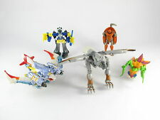 Transformers Beast Wars SILVERBOLT airazor lot incomplet Mirage buzzclaw