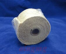 5M HIGH HEAT FIBERGLASS EXHAUST HEADER PIPE TAPE WRAP INSULATION CLOTH !!!