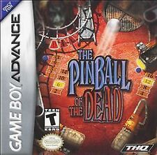 ***PINBALL OF THE DEAD GAME BOY ADVANCE GBA COSMETIC WEAR~~~