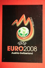 Panini EURO 2008 N. 4 THE BRAND NEW With BLACK BACK TOPMINT   !!!