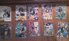 Lot of 26 Green Bay Packers all stars, inserts, rookie cards. Near Mint. No Dups