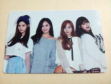 SNSD Girls' Generation 2015 Greetings Calendar [OFFICIAL] Photo Card - Group B