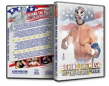 Behind the Mask Del 'The Patriot Wilkes' Triple DVD Set - WWE WWF WCW Wrestling