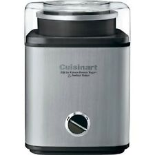 Cuisinart Pure Indulgence 2 quart qt Ice Cream Frozen Yogurt Sorbet Maker - NEW
