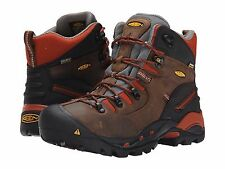 Keen Mens Utility Pittsburgh Waterproof Soft Toe Safety Work Boots 8.5 2E