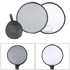 "12""/30cm Round Focus Softbox Grey Balance Card for Canon Nikon Neewer Speedlight"
