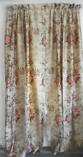 """RALPH LAUREN """"GUINEVERE"""" PAIR OF DRAPES-LINED-86"""" LONG-2 PAIR AVAILABLE"""