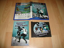 VIRTUA PRO FOOTBALL DE SEGA PARA LA SONY PS2 USADO COMPLETO