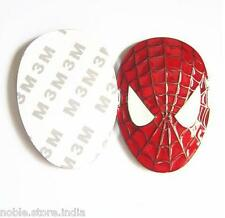 Spiderman Red Face Metal Sticker 3D Hyundai I10 Grand Xcent i20 Verna Accent