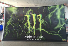 Monster Energy Drink Logo Sign Plate Poster Flag Bar Sport Fan Banner Hang Fly