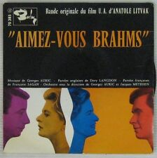 Perkins Montand Bergman 45 tours Georges Auric 1961