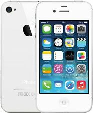Apple Iphone 4S 8Gb White Refurbished+3 Months Seller Warranty Minor Scratch-A