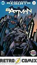 DC REBIRTH BATMAN #2 FIRST PRINT NEW/UNREAD BAGGED & BOARDED