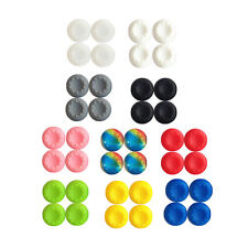 10PCS Rubber Silicone Cap Thumbstick Cover Joystick Grips Pad For PS4 Controller