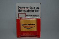 DYNACHROME COLOR MOVIE FILM FOR 8MM ROLL CAMERA - EXP: MAR.67