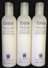 LOT OF 3 Graham Webb 30 Thirty Second Conditioner Conditioning Rinse 8.5 Oz Each